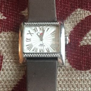 Michele MW2 Stainless and Diamond Watch